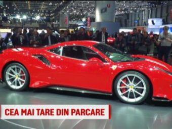 Salonul Auto de la Geneva   Ferrari a lansat cel mai rapid bolid de strada: 488 Pista! VIDEO