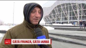 """""""Ma duc pe JOS in Spania, pana in judetul ALBACETE!"""" :))) FABULOS! Ce pariu a pierdut azi un fan la Craiova - Dinamo"""