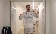 """""""Faceti loc, faceti loc!"""" Ronaldo a intrat triumfal in vestiar, colegii l-au urmat! Scenele care nu s-au vazut la TV dupa calificarea Realului"""