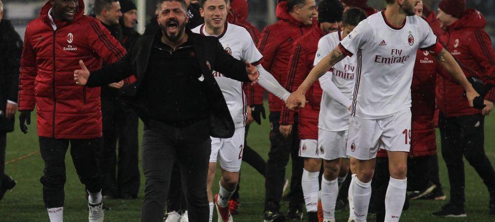 """Declaratia SUPERBA a lui Gattuso inaintea marelui meci cu Wenger: """"Eu sunt la copii si juniori pe langa el! Nu exista termeni de comparatie!"""""""