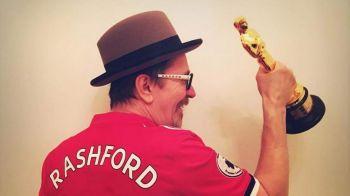 Manchester United - Sevilla, marti, PROTV | A cucerit Oscarul si a sarbatorit in tricoul lui United! Rashford i l-a facut cadou