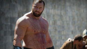 MUNTELE din Game of Thrones a facut un nou record! Greutatatea INCREDIBILA pe care a ridicat-o. VIDEO