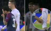 Faza incredibila pe care nimeni nu a vazut-o! Razboiul Cristiano - Dani Alves a ajuns in punctul MURDAR: brazilianul si-a suflat nasul si s-a sters pe Ronaldo