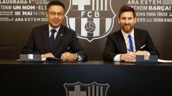 """Oficial al Barcelonei: """"Clauza lui Messi ar putea fi achitata la vara"""". Catalanii se pregatesc pentru cel mai greu test din ultimul deceniu"""