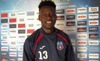 Ultimul transfer anuntat de Steaua Armatei, pentru promovare! Un african care a marcat deja in pregatiri, prezentat oficial