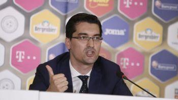 """Un nou atac al lui Razvan Burleanu: """"Povestea unui comision marca Lupescu!"""" De ce il acuza pe rivalul sau la presedintia FRF"""