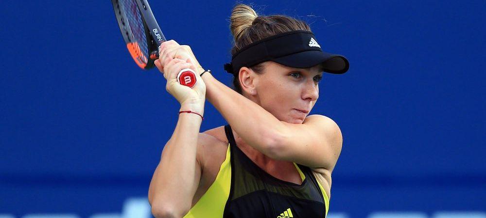 Simona Halep - K. Pliskova 6-4 6-4, in turul 2 la Indian Wells. Calificare la pas pentu Simona, care a incalzit mai greu motoarele
