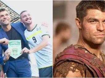 """Spartacus vine sa joace fotbal in Romania! Echipa care anunta ca il legitimeaza: """"Va fi varf de atac"""""""