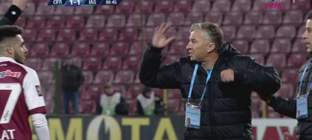 Play-off-ul s-a incins dupa primul meci: Petrescu rateaza derby-ul cu Steaua dupa ce a fost eliminat! De la ce a pornit scandalul