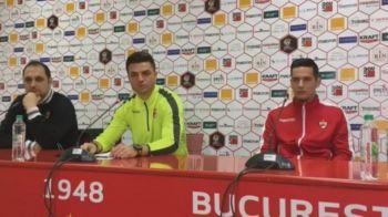 """Bratu, inainte de startul play-out-ului: """"Vreau sa rezist la Dinamo, de asta am venit aici!"""" Ce se intampla cu Torje si Rat: """"Inca nu ne-am gandit la asta!"""""""