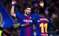 Malaga 0-2 Barcelona | Catalanii s-au descurcat fara Messi; Suarez si Coutinho au adus victoria la Malaga