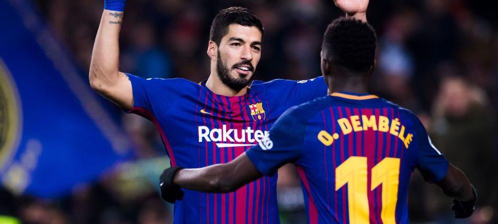 Malaga 0-2 Barcelona   Catalanii s-au descurcat fara Messi; Suarez si Coutinho au adus victoria la Malaga