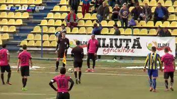 Faza halucinanta in Liga a II-a, la Calarasi - Afumati! Un fotbalist a decis sa traga de timp in minutul 90, cand echipa sa ERA CONDUSA