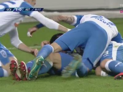 Craiova 1-0 Astra | Oltenii trec provizoriu peste Steaua in clasament, dupa o lupta crancena pe un teren jalnic! Mitrita a marcat