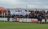 "FOTO | Protest dur in Liga 2! Suporterii au luat foc cand au vazut cine sta pe banca: ""Ce cauta bufonul asta in libertate?"""