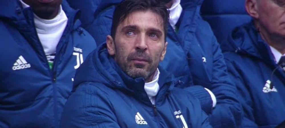 Buffon nu s-a putut stapani cand a vazut fotografia lui Astori pe Juventus Arena! Cum a reactionat legenda lui Juve