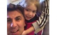 """SUPER VIDEO: Ionut Lupescu s-a filmat in timp ce canta """"Eu vara nu dorm"""" si a postat clipul pe Facebook :)"""