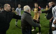 Ce sanctiuni risca PAOK si AEK! Echipa lui Razvan Lucescu poate castiga meciul la masa verde, dar apoi sa fie RETROGRADATA