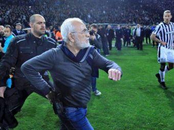 Mandate de ARESTARE in urma incidentelor de la PAOK - AEK! Ce risca patronul echipei antrenate de Razvan Lucescu