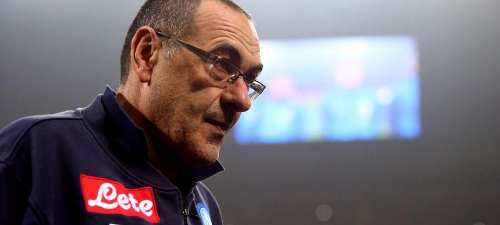 "Moment incredibil dupa ce Napoli a fost depasita de Juventus in clasament! Sarri a sarit la o reporterita: ""Esti femeie asa ca nu iti voi spune sa te duci nabii!"""