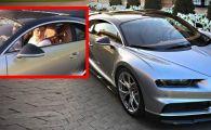 """""""De ce ai face asta? E lipsa de respect!"""" Ce si-a scris Ronaldo pe noul Bugatti Chiron de 2,5 mil euro. VIDEO"""