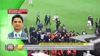 """EXCLUSIV // Razvan Lucescu, prima reactie dupa nebunia din Grecia: """"Sunt 100% alaturi de patronul meu!"""""""