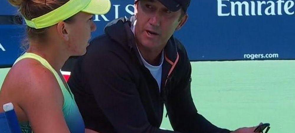 "Simona Halep a primit un sfat DE AUR de la Darren Cahill: ""Mi-a zis ca trebuie sa fac asta!"" Schimbarea este vizibila la Indian Wells"