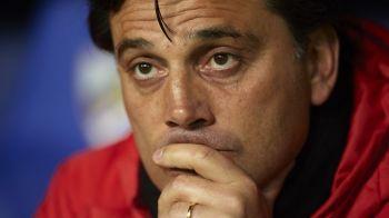 """Moment ISTORIC pentru Sevilla: pot ajunge in sferturi dupa 60 de ani! Cum vrea Montella sa-l bata pe Mourinho: """"Asta trebuie sa-i facem lui Man United!"""""""
