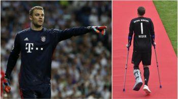 Situatie de Dosarele X pentru Neuer! Ce se intampla cu portarul lui Bayern, dupa a treia accidentare grava din cariera