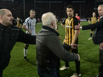 """Patronul lui PAOK rupe tacerea dupa imaginea care a SOCAT lumea fotbalului: """"Nu am amenintat pe nimeni! Noi suntem ostaticii unui sistem bolnav!"""""""