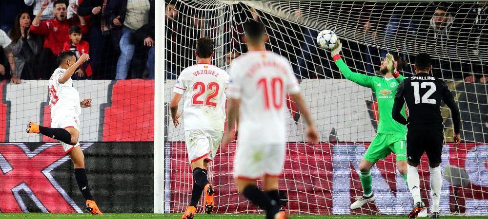 REZUMATE VIDEO // JOS E Mourinho! United, la pamant pe Old Trafford! Montella a mutat castigator: Ben Yedder, eroul serii | United 1-2 Sevilla, Roma 1-0 Sahtior