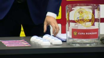 TRAGERE LA SORTI semifinale Cupa Romaniei // AFC Hermannstadt - Gaz Metan si CSU Craiova - FC Botosani