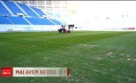 FRF ii cere Craiovei sa schimbe gazonul inainte de meciul cu Suedia! Meciurile Romaniei se vad in direct la PRO TV
