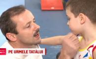 """Gimnastica l-a urzicat si pe el :) Baiatul lui Marius Urzica ii calca pe urme campionului olimpic: """"Sunt copia fidela a lui tati"""""""