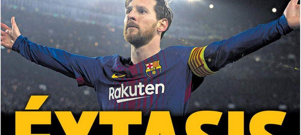 REGELE LEO, 100 de goluri in Champions League! Reactia lui D10S Messi, dupa dubla si pasa de gol cu Chelsea
