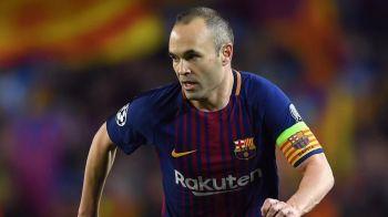 Anunt SOC la Barcelona dupa meciul cu Chelsea! Zeul Iniesta se pregateste sa spuna 'ADIO'