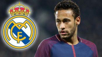 A inceput licitatia pentru Neymar! Dupa intalnirea cu seicul lui PSG, brazilianul a discutat cu Real Madrid