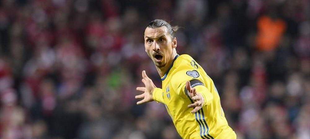 """Selectionerul Suediei NU il vrea pe Zlatan la Mondial: """"Sa demonstreze ca merita!"""" Lotul pentru partida cu Romania"""