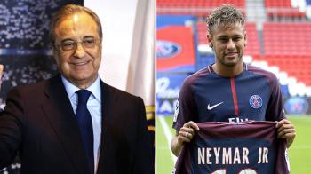 Joaca Neymar la doua capete? Acum doua zile s-a intalnit cu seicul lui PSG, astazi presa din Brazilia scrie ca l-a primit pe Florentino Perez