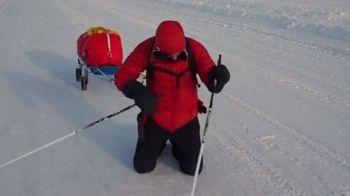 Supereroii nu sunt numai la Hollywood! Tibi Useriu mai are 60 de kilometri pana la linia de sosire a Maratonului Arctic! Cum arata picioarele sale: FOTO