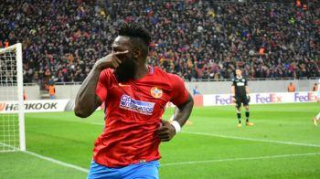 Alarma la Steaua: Gnohere s-a accidentat si e incert pentru derbyul cu CFR! Ce spune Dica despre primul 11