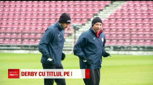 Se anunta NEBUNIE la derby! BOMBA lui Becali inaintea meciului: Steaua se pregateste sa castige la MASA VERDE cu CFR