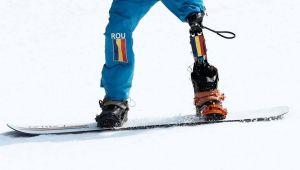 Mihaita Papara, singurul roman participant la Jocurile Paralimpice de iarna: locul 11 la snowboard cross si slalom