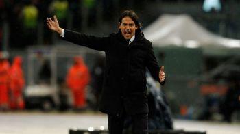 VIDEO | Era sa-si rupa coloana! :) Inzaghi, bucurie excesiva dupa calificare lui Lazio: a fost la un pas de o accidentare stupida