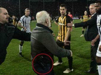 PROCESUL lui PAOK s-a incheiat dupa 5 ore! Cum s-a aparat echipa lui Razvan Lucescu dupa intrarea patronului INARMAT pe teren
