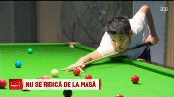 "Romanian Snooker Masters, la PROX | Chinezii au refuzat sarmalele: ""Am cautat mancare chinezeasca pe net!"""