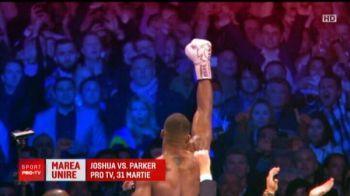 JOSHUA vs WILDER, 31 martie, PROTV | Recordul fabulos incercat de Joshua! Nici macar Klitschko n-a reusit asta!