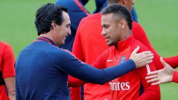 "Unai Emery nu stie daca Neymar mai ramane la PSG: ""Intrebati-l pe Florentino!"""