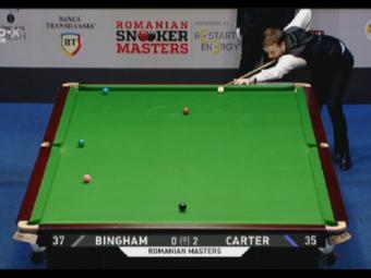 PRO X // Semifinalele turneului Romanian Snooker Masters: Stuart Bingham este primul finalist! Ryan Day - Kyren Wilson, a doua semifinala este de la 18.00