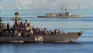 Armata rusa a trimis nave de razboi si ameninta armata SUA cu actiuni